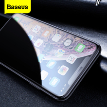 Baseus Privacy Screen Protector Tempered Glass For iPhone Xs Max Xr X S R Xsmax Anti peeping Dust proof Protective Glass Film