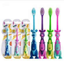 1Pcs Kids Soft-bristled Training Toothbrush Children Dental Oral Care Tooth Brush Tool Kid Tooth Brush Color Random 2021