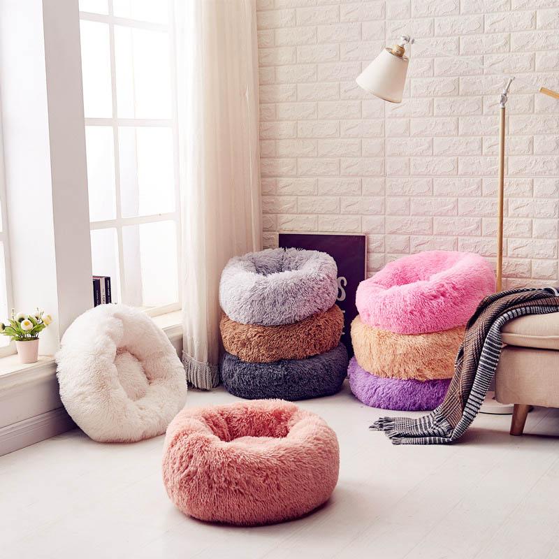 Winter Warm Cat House Cattery Large Dog Bed Machine Washable Puppy Pet Playen Mattress Petshop Products XS-XL 7