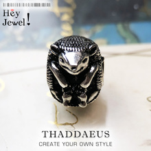 Beads Hedgehog, Silver Gift Fits Bracelet Europe Necklace European DIY Bijoux Jewelry Accessorie Gift For Women