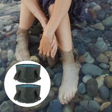 2pcs Collapsible Foot Basins Foot Soaking Bath Basins Laundry Buckets Outdoor