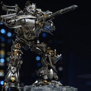 Image 4 - MPM08 MPM 08 transformacja Galvatron Mega Oversize Alloy oryginalna duża figurka KO zabawkowe roboty prezenty