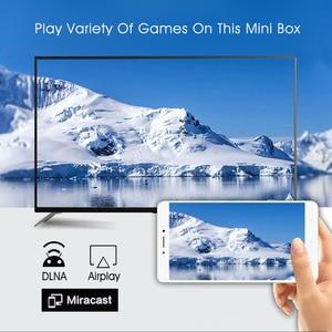Image 4 - Android TV Box 9.0 H96 Mini H8 RK3228A 2.4G/5G Dual WIFI Media Player BT4.0 1GB 8GB 2GB 16GB Smart TV Box Set Top Box