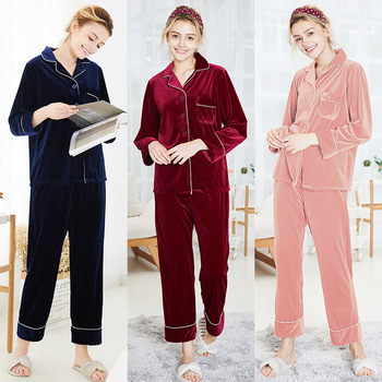 2019 Women Suit Long Sleeve Large Size Pijamas Women Pyjamas Satin Loungewear Women Unicorn Pajamas Spring Night Clothes Set