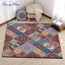 SunnyRain 1-piece Area Rugs for Living Room Square Rugs and Carpets for Bedroom Kitchen Rug Kids Bathroom Rug goodgrain large area rug for kitchen bathroom
