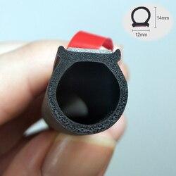 Type Big D rubber Door Seal Strip Car Door Seal Strip Universal Noise Insulation Epdm Car Rubber Waterproof Seals For Auto