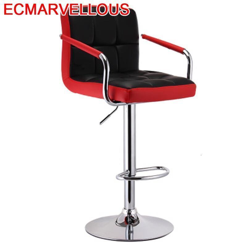 Stoelen Sedia Sandalyesi Stuhl Sedie Ikayaa Barstool Banqueta Todos Tipos Leather Silla Cadeira Tabouret De Moderne Bar Chair