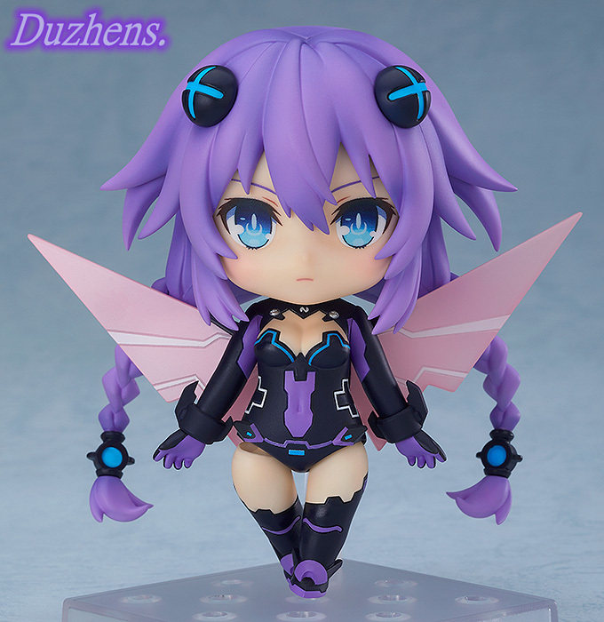 "Hyperdimension Neptunia 10/""PVC Neptune Figure Purple Heart Anime Alter Model Toy"