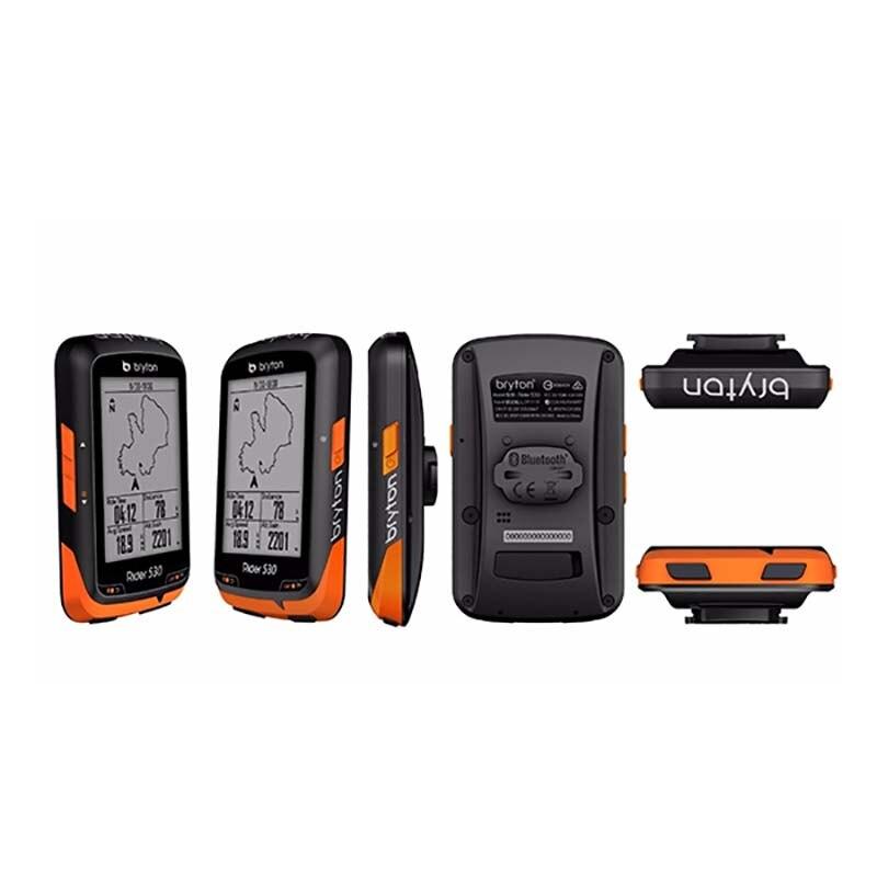 Bryton Rider 530T GPS bicicleta ciclismo ordenador y extensión montaje ANT + velocidad cadencia Sensor Dual Monitor de ritmo cardíaco R530 - 2