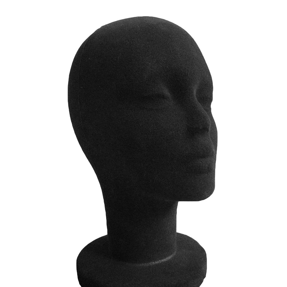 Foam Female Mannequin Head Manikin Headset Model Wig Hair Display Stand Training Heat