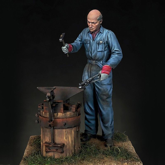 1/35 Modern Man At Work  (1 Figure)      Resin Figure Model Kits Miniature Gk Unassembly Unpainted