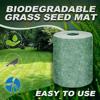 300x20cm Green Grass Seed Mat Fertilizer Garden Picnic Gardening Lawn Planting Mat DIY Plant Micro Landscape Yard Garden Decor