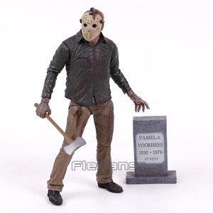 Image 2 - Sexta feira o 13th 4 o capítulo final jason voorhees figura de ação horror modelo, estatuetas de brinquedo
