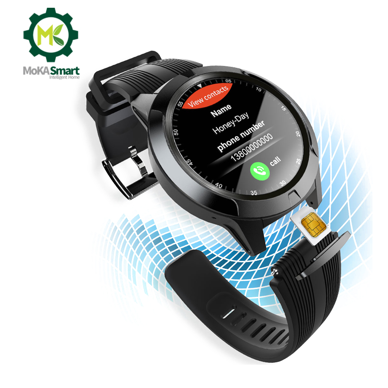 Permalink to Smart watch men Waterproof Sim card Phone watch GPS sport record Compass Heart rate Pedometer Bluetooth call smartwatch android