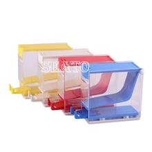 1 Pc Dental Baumwolle Roll Halter & Dispenser Schublade typ Zahnarzt Labor Ausrüstung Instrument (ohne baumwolle rollen)
