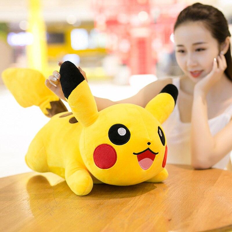 Pokemon Pikachu Plush Doll Toy Anime Cartoon Pikachu Yellow Elf Pokemon Stuffed Animal Plush Toy For Baby Kid Birthday Best Gift 2