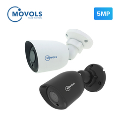 Movols câmera de segurança ao ar livre 5mp ahd câmera 2592x1944 tvi/cvi/cvbs cctv sony sensor bala câmera de vigilância de vídeo