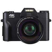 Professional 4K Digital Camera Video Camera Camcorder UHD for YouTube WIFI Portable Handheld 16X Digital Zoom Selfie Cam