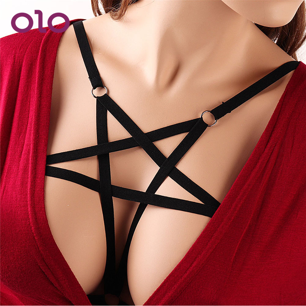 OLO Bondage Sexy Breast Harness Body Binding Erotic Lingerie Adults Game Sexy Lingerie Bra Exotic Apparel Sex Toys For Women