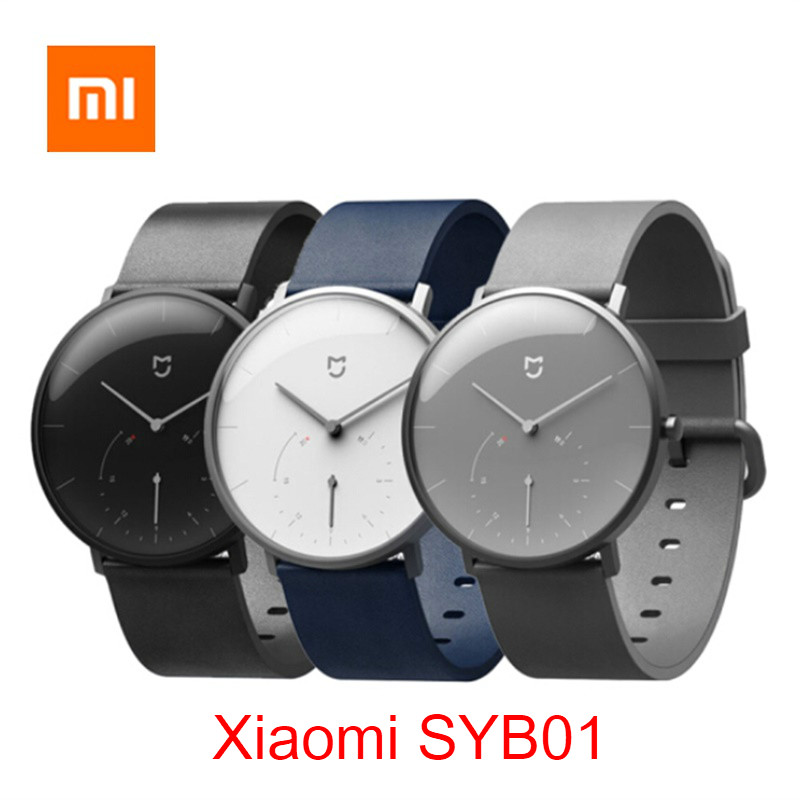 Original <font><b>Xiaomi</b></font> <font><b>Mijia</b></font> Quarz Smart Uhr BT Wasserdichte Mechanische <font><b>SmartWatch</b></font> Schrittzähler Intelligente Erinnerung Für Android IOS image