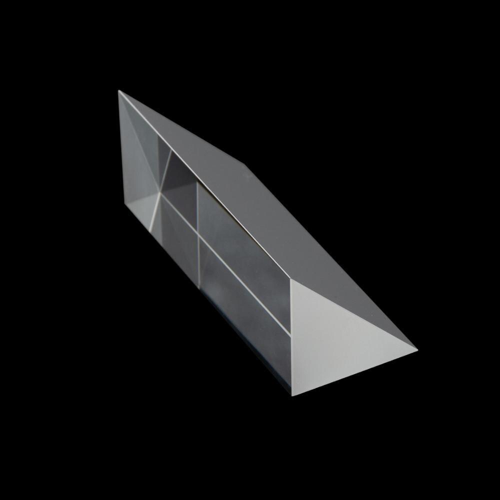 28*28*50mm optik Triprism gökkuşağı fotoğraf K9 cam yüksek hassasiyetli spektroskopisi deneysel fizik öğretim
