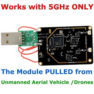 Image 1 - RTL8812AU 802.11ac 5G 867Mbps شبكة لاسلكية USB واي فاي محول 650Mw SIGE 5023L + SKY85601 لكالي لينكس أوبونتو ARM التوت بي