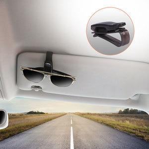 Car Sunshade Glasses Clip Auto Fastener Clip Holders for Ford Focus Fiesta Kuga Citroen C5 Skoda Octavia Rapid Superb(China)