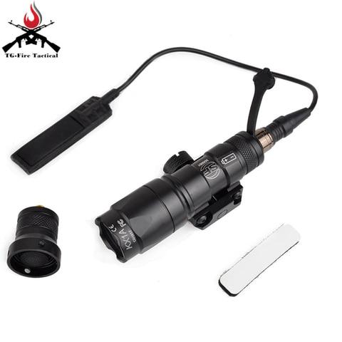 airsoft tactical surefir m300 m300a m300b mini olheiro rifle de caca ao ar livre do