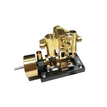 Mini Inline Double Cylinder Steam Engine Model 2020 New Retro Model цена 2017
