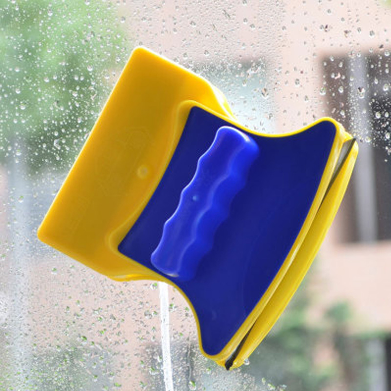 Double Side Magnetic Window Cleaning Brush High-efficiency Windows Surface Glass Cleaner Washing Wiper Household Cleaning Tools