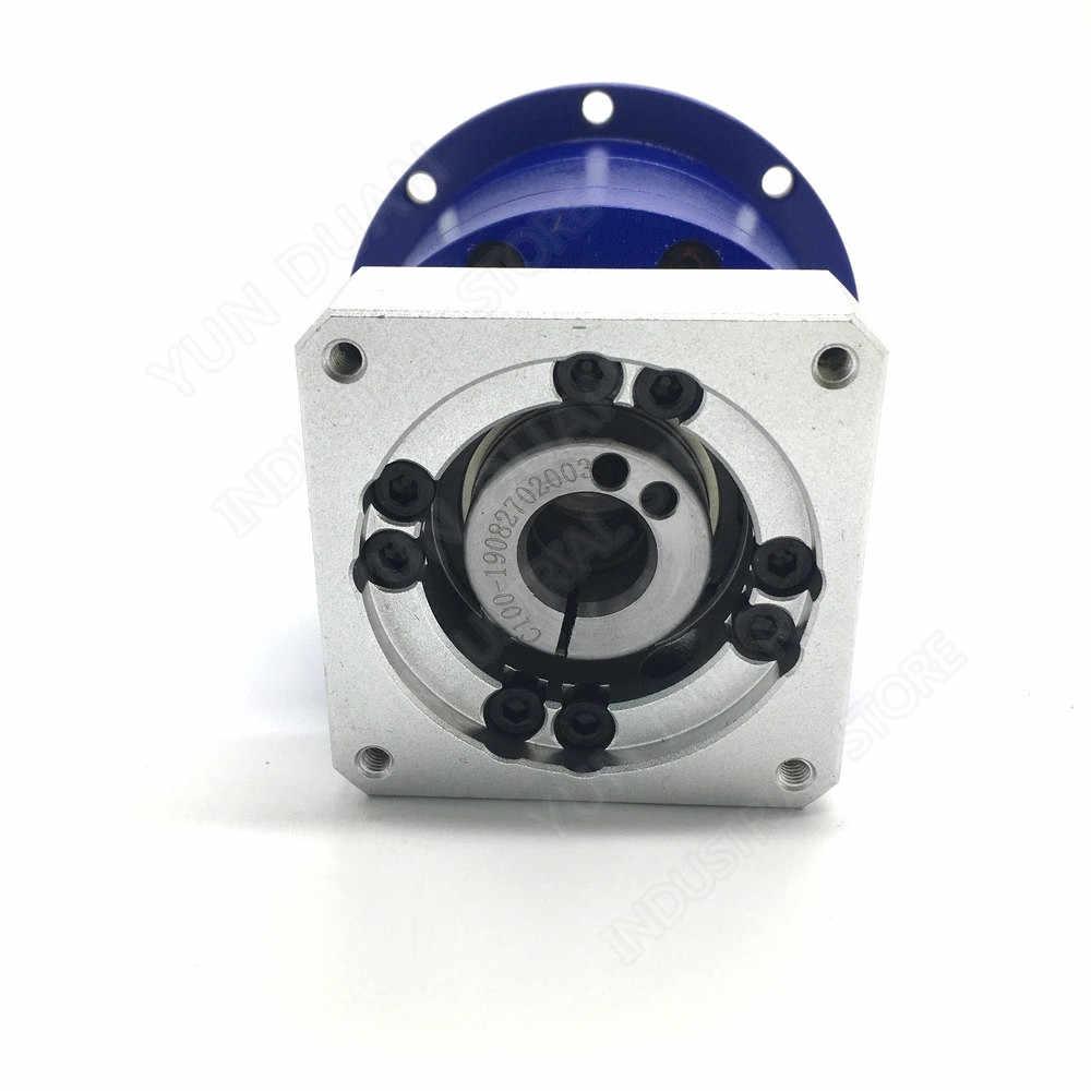 סליל הילוך גבוהה דיוק 70:1 מקורבות פלט פלנטריים תיבת הילוכים מפחית 14mm פיר עבור NEMA34 86mm מנוע צעד CNC