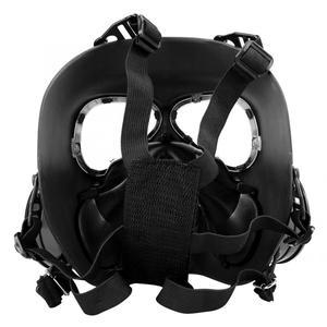 Image 5 - Полнолицевая противогаз, военная реальность, CS полевой защитный шлем, командировочная маска, респиратор, тушь для ресниц, газ, военная маска
