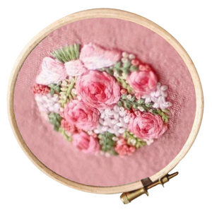 Cross Stitch Stamped Embroider