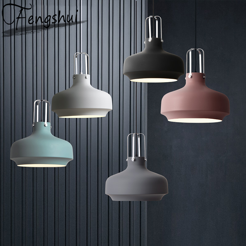 Industrial Pendant Lights Lamp Iron LED Pendant Lighting Living Room Dining Room Bedroom Cafe Loft Hanging Lamp Light Fixture