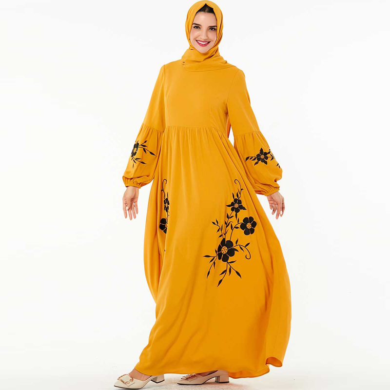 Kaftan Abaya Dubai Long Muslim Dress Islamic Clothing Abayas For Women Tturkish Dresses Caftan Marocain Robe Islam Hijab Dress