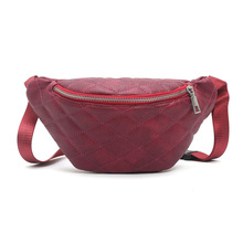 Waist Bag Women 5 Colors Fashion Travel Fanny Pack PU  caja fuerte secreta oculta