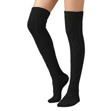 Сентравин для женщин и девочек; зимние простые Вязаные гольфы; вязаные гетры до колена