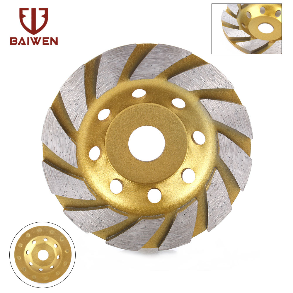 100/125/150/180mm Diamond Segment Grinding Wheel Cup Cutting Disc For Marble Concrete Masonry Stone Diamond Grinding Wheel