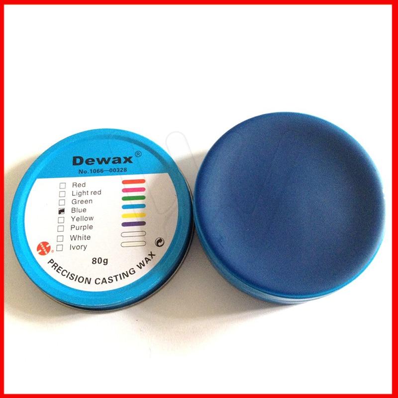 cera da margem dos materiais do laboratorio dental branco roxo vermelho verde azul amarelo peso 80g