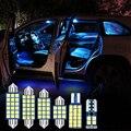 10 шт. Автомобильный светодиодный лампы интерьера настольная лампа дверь багажника светильник для Subaru Forester SH SJ SK 2009-2019 2012 2013 2016 2018 аксессуары