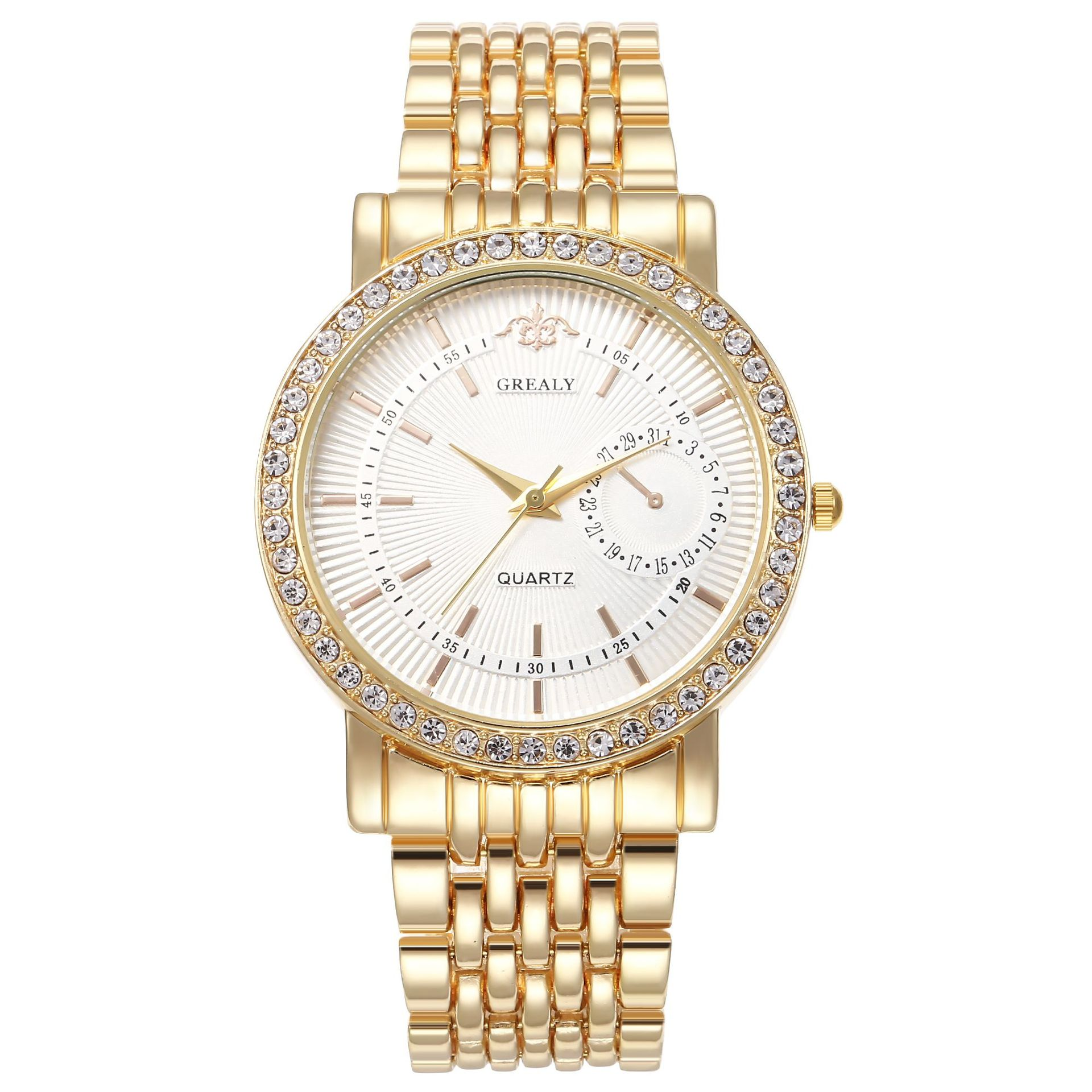 Diamond Women Luxury Brand Watch 2019 Rhinestone Elegant Ladies Watches Gold Clock Wrist Watches For Women Relogio Feminino 2019