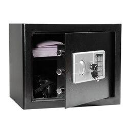ключница Цифровой Сейф с паролем 370*310*300 мм бытовые 9,5 кг стальные сейфы банк денег безопасность коробка держать наличные ювелирные изделия ...