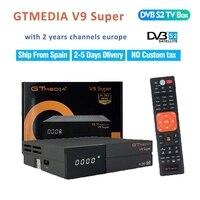 dvb digital חם GTMEDIA V9 סופר DVB-S2 Full HD Digital Satellite ReceiverUSB2.0 1080P + שנה אחת חינם האירופי 7 הקו cccam מפענח בלוויין (2)