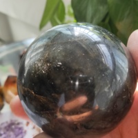600gNatural labradorite Crystal polished Sphere Ball Healing crystal