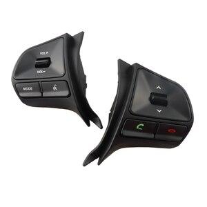 Image 3 - Dla KIA RIO 2011 2014 rok wielofunkcyjny przycisk sterowania kierownicą przełącznik głośności telefonu Audio akcesoria samochodowe Bluetooth