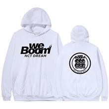 Nct Dream 2019 World Tour The Same Hooded Hoodie 2019 New Couple Sweatshirts Harajuku Hip Hop Hoodies Sweatshirt Male Streetwear платье dream world dream world mp002xw1hhup