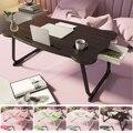 Подставка для ноутбука складная деревянная, настольная подставка для обучения, столик компьютерный складной для кровати, дивана, сервирово...