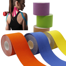 Kinesiology Tape Athletic Recovery Elastic Tape Kneepad Muscle Pain Relief Knee Pads Support for Gym Fitness Bandage 7pcs lot kinesiology tape physical therapy sports bandage recovery athletic fitness protector knee pain muscle elastic strap