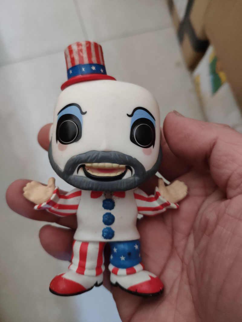 Funko POP House of 1000 الجثث الشكل اللعب #58 الكابتن Spaulding جمع عمل نموذج لجسم الديكور ألعاب الدمى
