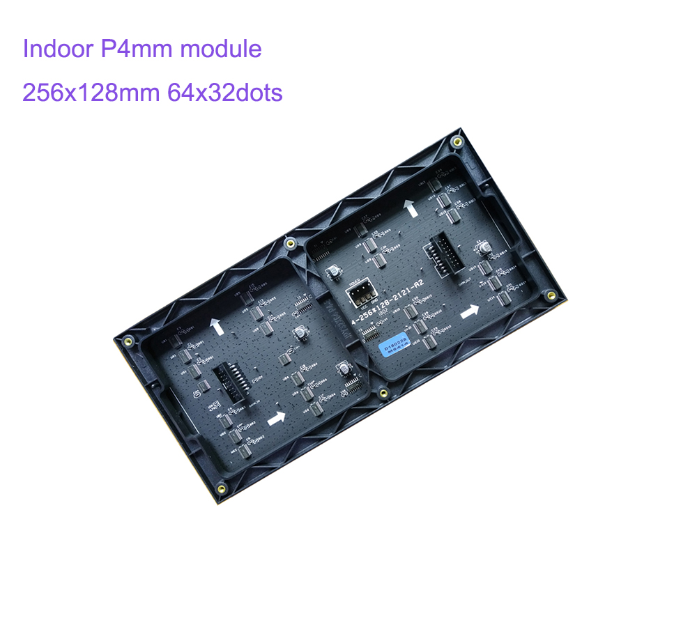 Image 3 - 64x32 LED sign RGB P4 led module video wall P2.5 P3 P4 P5 P6 P8 P10 256x128mm indoor screen full color displayLED Displays   -